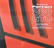 LIVRE/BOOK : FERRARI 288 GTO (owners manual,manuel,chassis numéro,parts