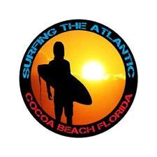 Cocoa Beach Sticker - 4 in vinyl surf sticker original art