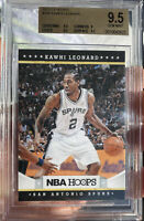 2012 Panini NBA Hoops Kawhi Leonard Rookie Gem Mint  9.5 BGS Beckett Clippers RC
