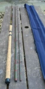 VINTAGE HARDY CARBON MATCH ROD 13FT WITH COUNTERBALANCE HANDLE GOOD CONDITION