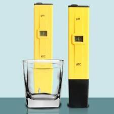 Digital PH Meter Pocket Tester Pen Portable Pool Water Aquarium Hydroponic Wine