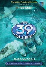 ~~ PETER LERANGIS ~~ THE 39 CLUES ~~ IN TOO DEEP  BOOK 6  ONLY 3 CLUES
