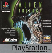 ALIEN TRILOGY [Platine] Playstation 1 utilisé