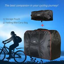 """HOT 14""""-20"""" Folding Bicycle Bike Carrier Carry Bag Transport For Cycling T2L5"""