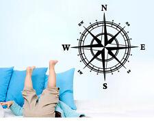 Nautical Compass Wall Decal Nautical Compass Wall Sticker creative room decor