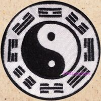Clan Hyuga Logo Patch Naruto Ninja Suit Uzumaki Akatsuki Yin & Yang Embroidered