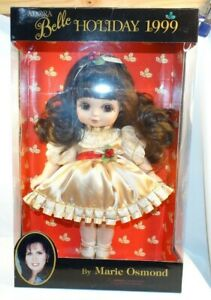 "MARIE OSMOND ADORA BELLE HOLIDAY 1999 15"" VINYL DOLL"