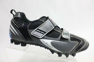 GARNEAU Lorenrides Grey Sz 11 (45 EU) Men Leather Cycling Shoes
