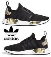 Adidas Originals NMD_R1 Men's Sneakers Casual Shoes Running Black Camo