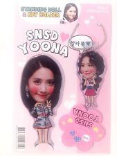 YoonA SNSD Girls Generation Photo Standing Doll Key Holder Set KPOP Yuri TaeYeon