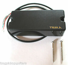 Tesla Pickup Set Neck+ Bridge Humbucker Corona 5SC 4 oder 5 Saiter Tonabnehmer