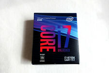 Intel Core i7-8700k (8th gen) CPU 3.7GHz LGA1151