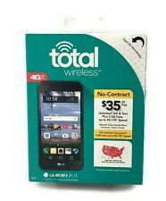 Total Wireless Prepaid LG Rebel 2 4G LTE Smartphone