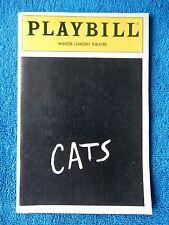 Cats - Winter Garden Theatre Playbill - March 1987 - Brian Andrews