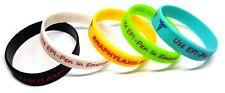 5x ANAPHYLAXIS SMALL Medical EPI PEN Wristband bracelet allergy allergic Alert