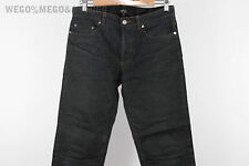 A.P.C. APC Waxed Raw Selvedge Waterproof Made In Japan Denim Jeans sz 29 31 x 31