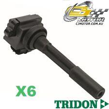 TRIDON IGNITION COIL x6 FOR Holden  Jackaroo 02/98-09/04, V6, 3.5L 6VE1