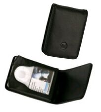 Etui iPod Nano 3.Generation Ledertasche Schwarz Klappdeckel Magnetverschluß Neu