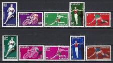 Espagne 1960 Yvert n° 987 à 996 sports neuf ** 1er choix