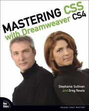 Mastering CSS with Dreamweaver CS4, Stephanie Sullivan, Greg Rewis, 0321605039,