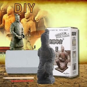 Archaeological Toy Terra Cotta Chinese Ancient Warrior Model Mining Toys