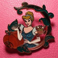 Disney Pin - Cinderella Princess and Gus Mouse Vine Slipper and Pumpkin