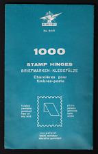 KLEB - FEST / STAMP HINGES UNOPENED PACKAGE 1000 /PEELABLE & FREE AF ANY ACID