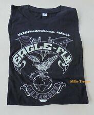 TEE SHIRT HARLEY DAVIDSON : International Rally EAGLE-FLY HEXAGONE PARIS 1986