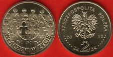 """Poland 2 zlote 2013 """"Polish Society for the Mentally Handicapped' UNC"""