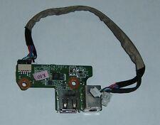 HP DV6000, Compaq F700 DC Jack, Power, USB Board DAOAT8TB8F2 - P/N: 431445-001
