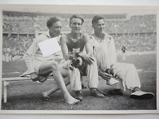 Olympia 1936 Dompert Iso-Hollo & Tuominen 3000 m Hindernis 46/61
