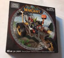 TRICICLO GOBLIN  World of Warcraft WOW MEGA BLOKS GOBLIN TRIKE nuovo