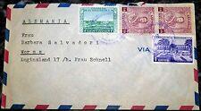 Brief San Salvador El via Luftpost Par Avion Air Mail (62