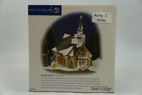Dept 56 Snow Village Holy Spirit Church Lighted Christmas Collectible 55003
