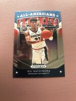 2019 Panini Prizm Draft Picks RUI HACHIMURA All-Americans Prizm SP RC