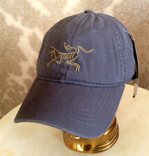 Gorra de béisbol con el logotipo Sombrero ARCTERYX ® Gris Nuevo Pre curvo Pico Totalmente Ajustable