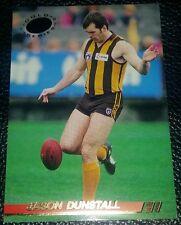 RARE INSERT CARD 1994 SELECT AFL GOLD SERIES JASON DUNSTALL HAWTHORN HAWKS