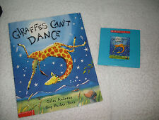 Listening Center:Giraffes Can't Dance+book on cd-Giraffe sad,dance?happy ending!
