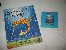 Listening Center:Giraffes Can't Dance+book on cd-Giraffe sad,dance?happy ending!