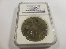 1734 Netherlands 1 Ducatoon Overyssel DAV-1829 NGC AU Details Surface Hairlines