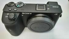Sony Alpha a6600 24.2MP Mirrorless Camera - Black (Body Only) lightly used