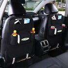 Car Seat Back Storage Bag Multi-Pocket Organizer Holder Hanger Auto Accessory
