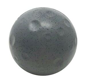 """7 cm diameter toy ball """"the moon of the Earth"""" – soft, stress, foam, rubber toy"""