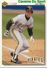 115 JAY BELL PITTSBURGH PIRATES BASEBALL CARD UPPER DECK 1992