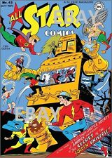 ALL STAR COMICS 43 COVER PRINT Justice Society of America