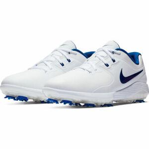 Nike Vapor Lunarlon Pro Fitsole Golf shoe AQ2197-102 White/Blue Mens Sz 11.5 NEW