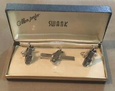 NOS SWANK GOKF BAG CUFF LINKS & TIE CLIP SET SKU122793P