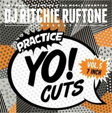 """Ritchie Ruftone Practice Yo Cuts Vol. 5 - 7"""" Scratch Vinyl Portablist"""