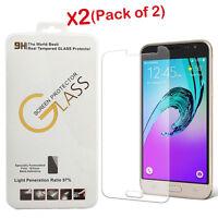 2X For Samsung Galaxy J3 V , J3 (2016) Premium Tempered Glass Screen Protector