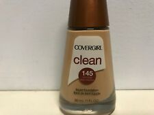 Covergirl Clean Foundation 145 Warm Beige  Loc 7A. NEW